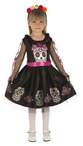 My Other Me Me-204033 Disfraz de calaverita para niña, 5-6 años (Viving...