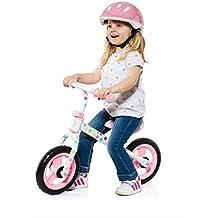 MOLTO - Pack de casco y bici sin pedales, color rosa (16228)