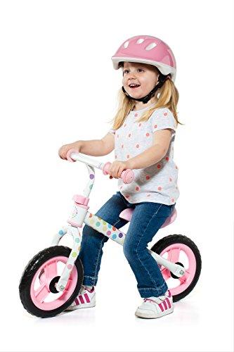 MOLTO Pack de casco y bici sin pedales, color rosa (16228)