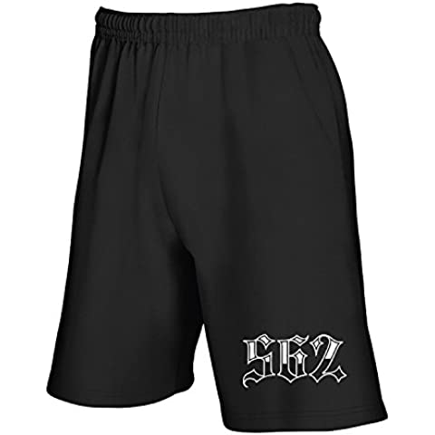 Cotton Island - Pantalone Tuta Corto FUN0368 562 area code shirt