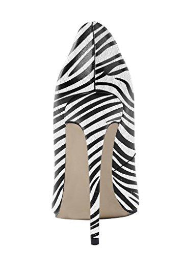 48154ffd4091c uBeauty Damen High Heels Stilettos Slipon Pumps Spitze Zehen Sexy ...
