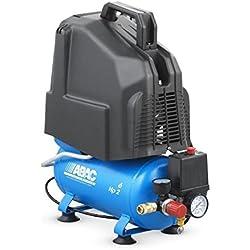 ABAC - Compresseur à piston non lubrifié 6L 8bar 2CV 13,8 m3/h - PRO START O20P