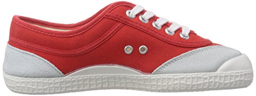 Kawasaki Rainbow Retro, Low-Top Sneaker mixte adulte Rouge (red / 33)