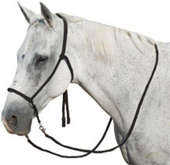 Mustang Saddlery Bitless Bridle
