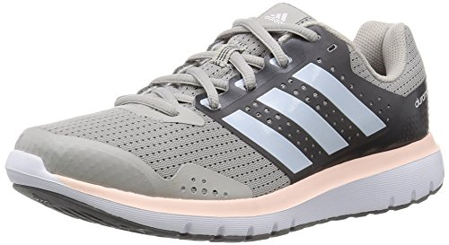 adidas Women's Duramo 7 W Grey and Blue Mesh Running Shoes - 8 UK  available at amazon for Rs.4224