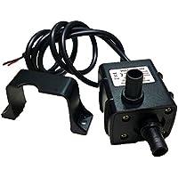 Anself Mini Pompe à Eau sans Balai Ultra Silencieux Étanche Submersible pour Fontaine Pompe de Circulation pour Aquarium