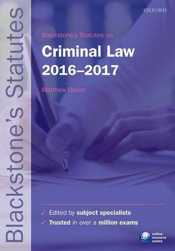 Blackstones-Statutes-on-Criminal-Law-2016-2017-Blackstones-Statute-Series