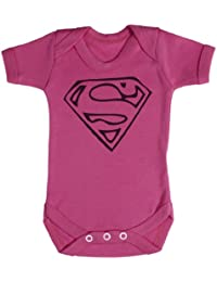 TRS - Super Man Body bébé 100% Coton