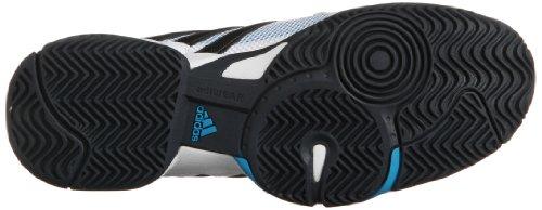 adidas Performance Barricade Team 3 F32351 Herren Tennisschuhe Weiß (Running White FTW/Night Shade F13/Solar Blue S14)