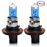 Win Power H13 (9008) 12V 100W Ultra blanco Halógeno Lámpara Xenón Blanco Faro Bulbos 5000K Niebla Luz lateral, 2 piezas