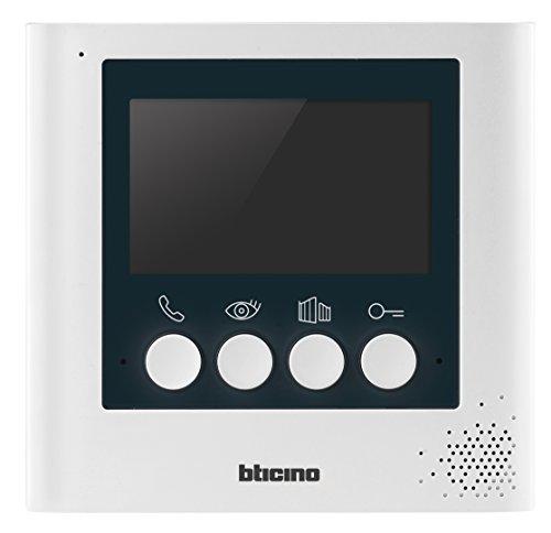 Immagine di BTicino 332253 Display Aggiuntivo 4.3 Pollici per Kit Videocitofonici 2 Fili, Bianco Perla