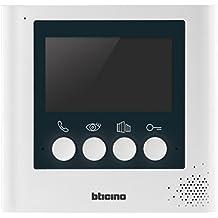 Bticino  - 332 253 repuesto de pantalla, el cable de 4,3 pulgadas, blanco perla de los sistemas de acceso de vídeo, 2
