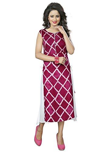 Kurti (Kiteshop Designer Pink Kurtis)