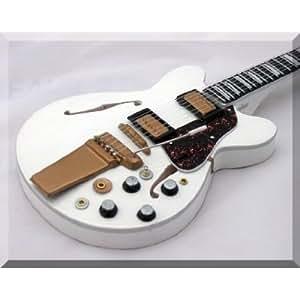 ALEX LIFESON Miniature Mini Guitar Gibson ES 355 Rush
