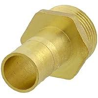 1,59 cm de combustible Gas manguera Barb x 2,54 cm rosca macho acople recto de ajuste