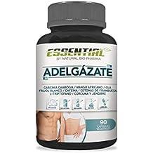 Adelgazante 100% Natural | Acción Quemagrasas, Reductora Del Apetito y Estimulante Del Metabolismo |