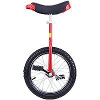 """Paneltech 16""""/20"""" Monociclo Entrenador para Chicos/Adultos Unicycle Altura ajustable a prueba de deslizamiento Butyl Mountain Tire Balance Ciclismo Ejercicio Bicicletas (20"""")"""