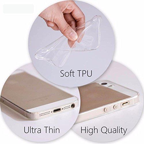 Kimoji Handyhülle, Case, Bumper durchsichtig, iPhone SE 5S 5 #2