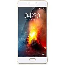 "Meizu M5 Note - Smartphone de 5.5"" (Octa-Core A53 1.8 GHz, memoria interna de 16 GB, 3 GB de RAM, HD 720p), Dorado/Blanco"
