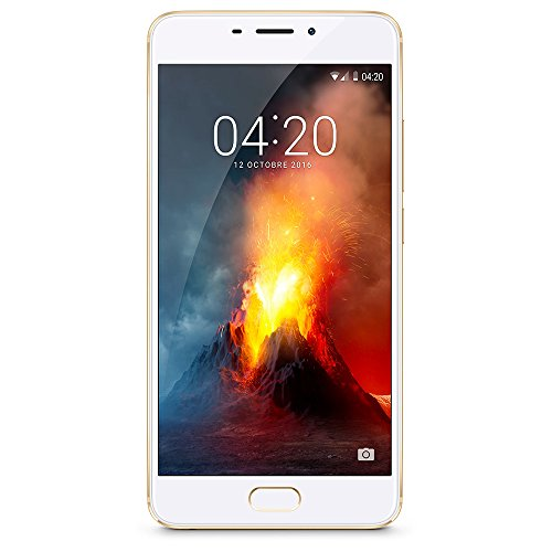 "Meizu M5 Note Dual SIM 4G 16GB Gold,White - Smartphones (14 cm (5.5""), 16 GB, 13 MP, Android, 6.0, Gold, White)"
