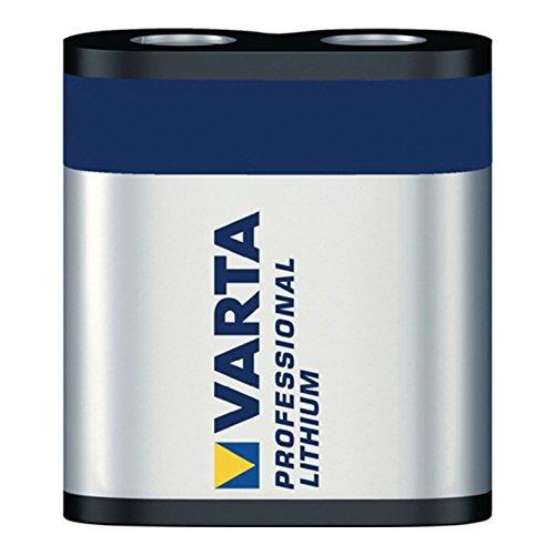 Varta CR-P2–Batterie, Lithium, Prismatic, 6V, Schwarz)