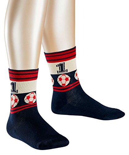 FALKE Jungen Socken Soccer, Gr. 23-26, Blau (marine 6120)