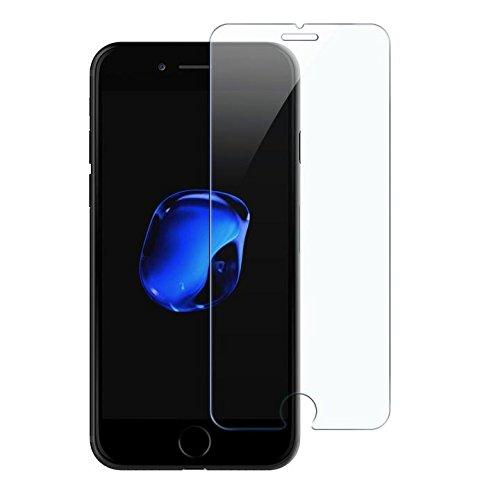 iPhone 7vetro temperato, iluxus® 2X [Antigraffio Ultra Clear] in vetro di alta qualità ultra trasparente pellicola vetro temperato Proteggi schermo PELLICOLA DI VETRO PELLICOLA PROTETTIVA IN VETRO T sehr Transparente