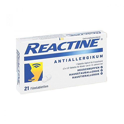 Reactine Tabletten, 21 St.