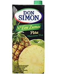 Don Simon Zumo de Piña Uva - Pack de 12 botellas x 1 l - Total