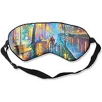 Walking On The Road Pattern Sleep Eyes Masks - Comfortable Sleeping Mask Eye Cover For Travelling Night Noon Nap... preisvergleich bei billige-tabletten.eu