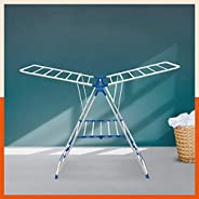 Bathla Mobidry Neo - Foldable Clothes Drying Stand (Blue)