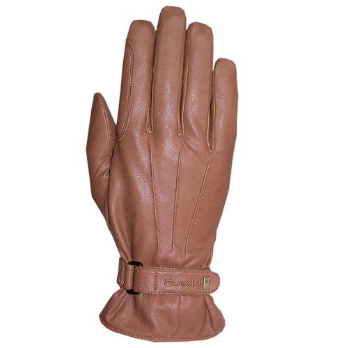 Roeckl Sports Winter Handschuh -Wago- Unisex Reithandschuh, Haselnuß, 8,5
