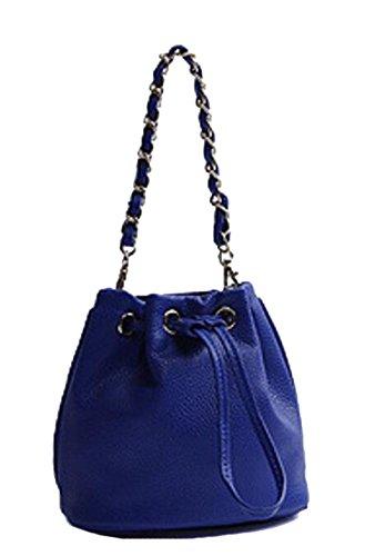 La Signora Pu Mini Bag Blue