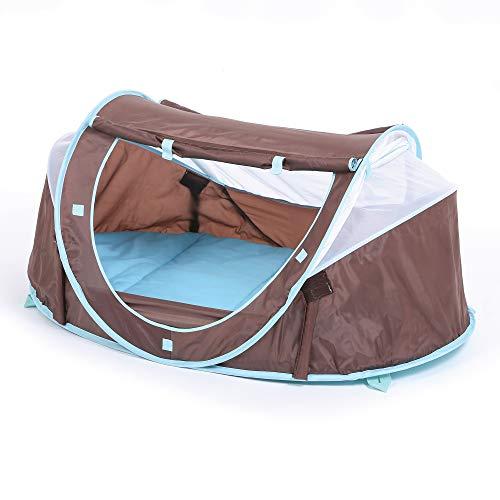 LUDI - Tente nomade 'Chocolat' pour bébé, dès la naissance. Lit...