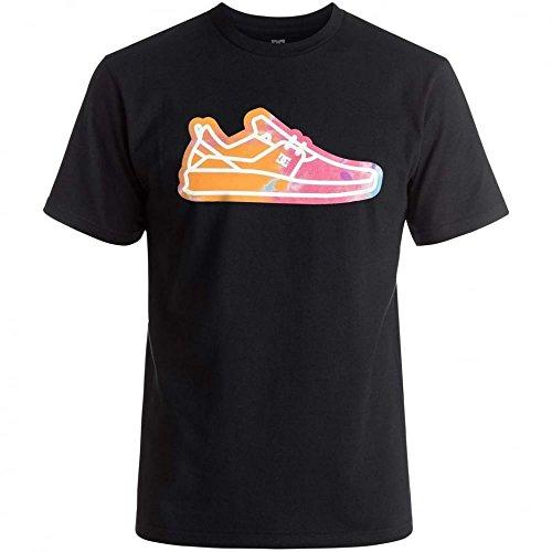 DC Shoes Herren Funrow Short Sleeve T-Shirt, Schwarz anthrazit
