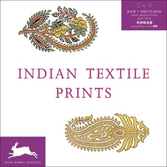 Indian Textile Prints + CD ROM