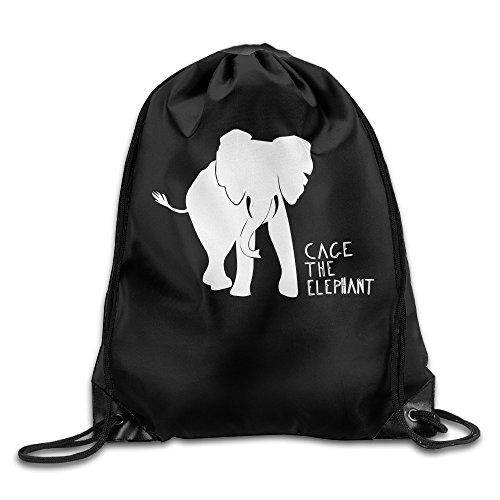 canace-cage-the-elephant-sports-dexterieur-avec-cordon-sacs-sac-a-dos-blanc-taille-unique