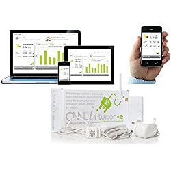 OWL Intuition-LC-Misuratore di consumo Elettrico per Uso in casa o Ufficio con Collegamento a Internet (71Amps)