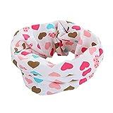 Boys Girls Baby Scarf Cotton O-Ring Infi...