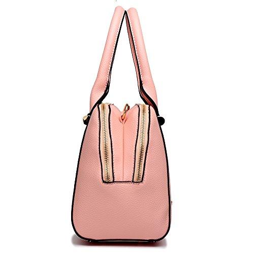 Miss Lulu - Sacchetto donna Pink
