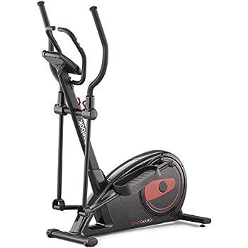 CapitalSports Helix Track Bicicleta elíptica con Ordenador ...