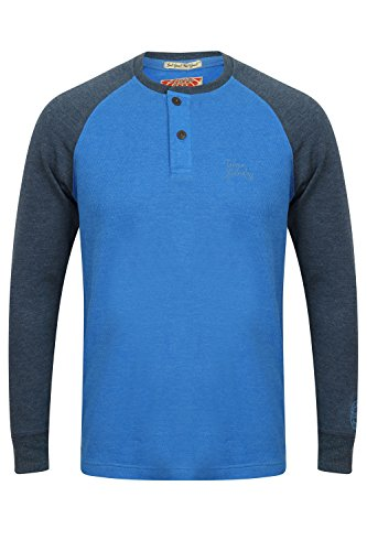 Tokyo Laundry Herren Blusen Langarmshirt Willow Ridge - Corn Flower Blue