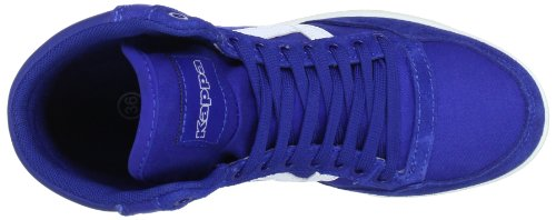 Kappa 241638, Baskets mode mixte adulte Multicolore (6010 Blue/White 6010 Blue/White)
