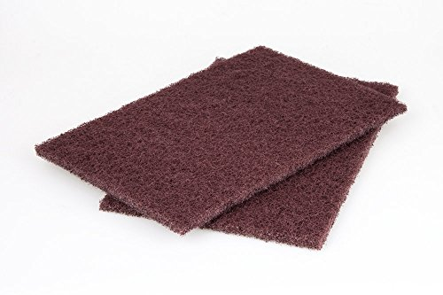 Wolfcraft 2 Schleifvlies-Pads 150 x 230 mm medium, 5899000