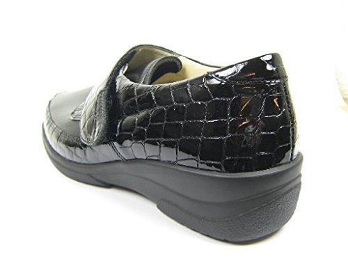 Velcro ® Scarpe Solidus Bassa Nero Hedda Fissaggio Di gpwqzE