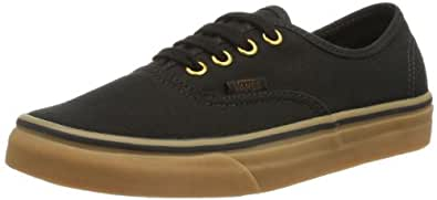 Vans U Authentic, Unisex-Adults' Low-Top Trainers, Black/Brown, 2.5 UK