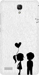 AMEZ designer printed 3d premium high quality back case cover for Xiaomi Redmi Note Prime (love couples)