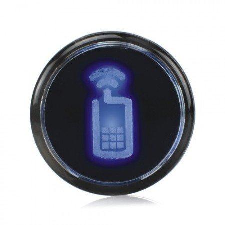 Preisvergleich Produktbild LIGHT BADGE blau von Mathmos