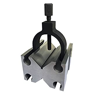 HHIP 3402-0970 Toolmakers V-Blocks with Clamp In Slot, 4-7/8