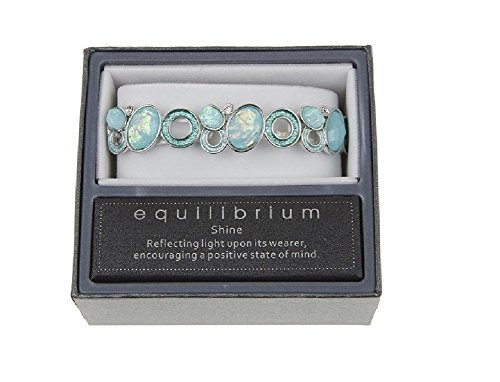 Equilibrium Kreise mint 763484 Stretch Armband (54499)